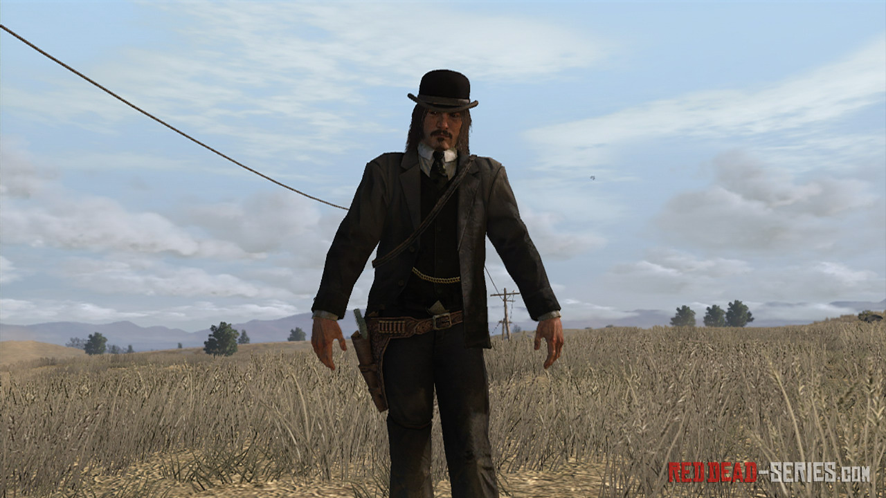 Red dead redemption guida for Bureau uniform