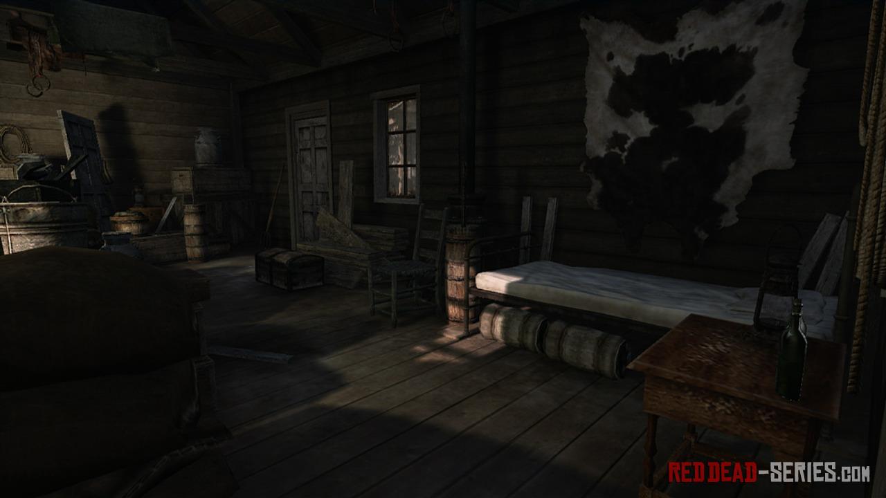 Rifugi e accampamenti red dead redemption reddead for Rimodella a forma di ranch della casa